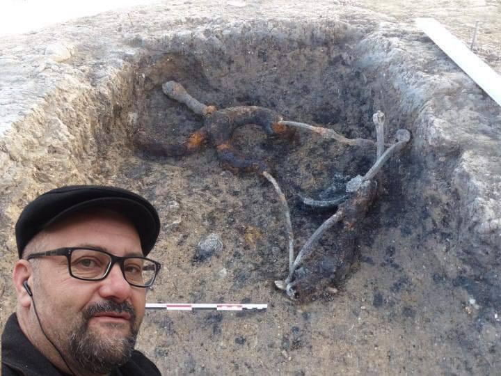 Археолози откриха гало-римски стол