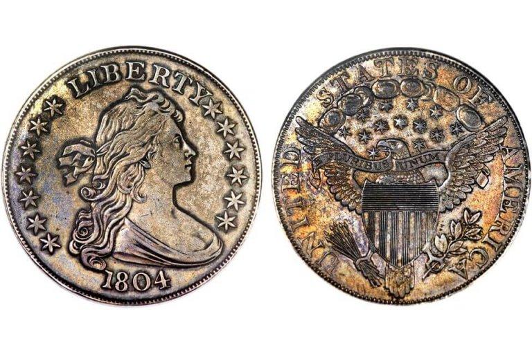 10. Сребърен долар, 1804 г.
