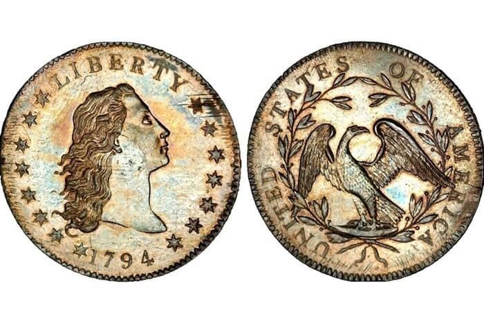 """Свобода """"Разпусната коса"""", 1794г"""
