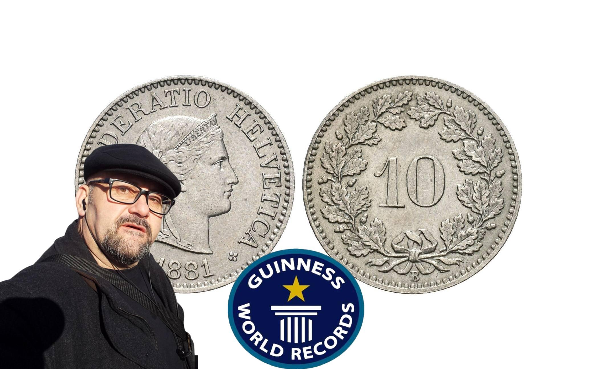 Стефан Пройнов: Вижте коя монета влезе в рекордите на Гинес?