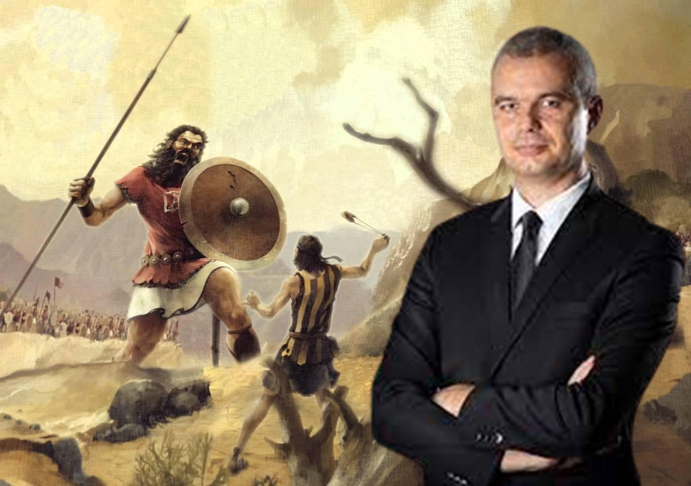 Костадин Костадинов и неговата битка като Давид